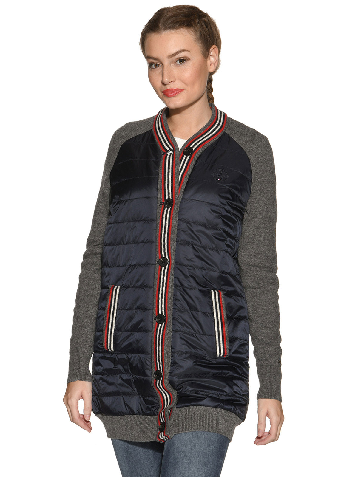 A Tommy Hilfiger Bryony Combo Long Bomber