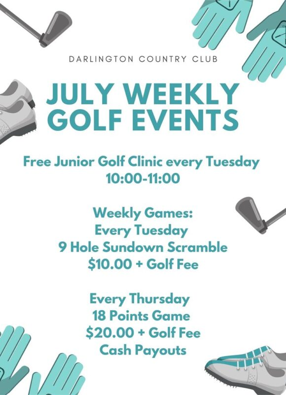 Weekly Golf DCC